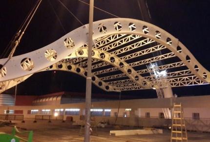 גג קניון קריון חיפה