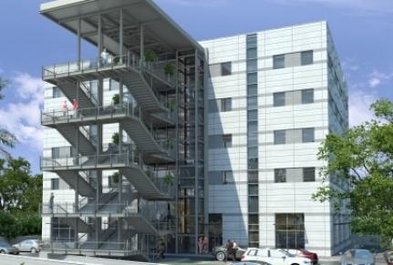 מדרגות ומרפסות בית גל רחובות